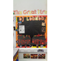 The Great Fire of London display