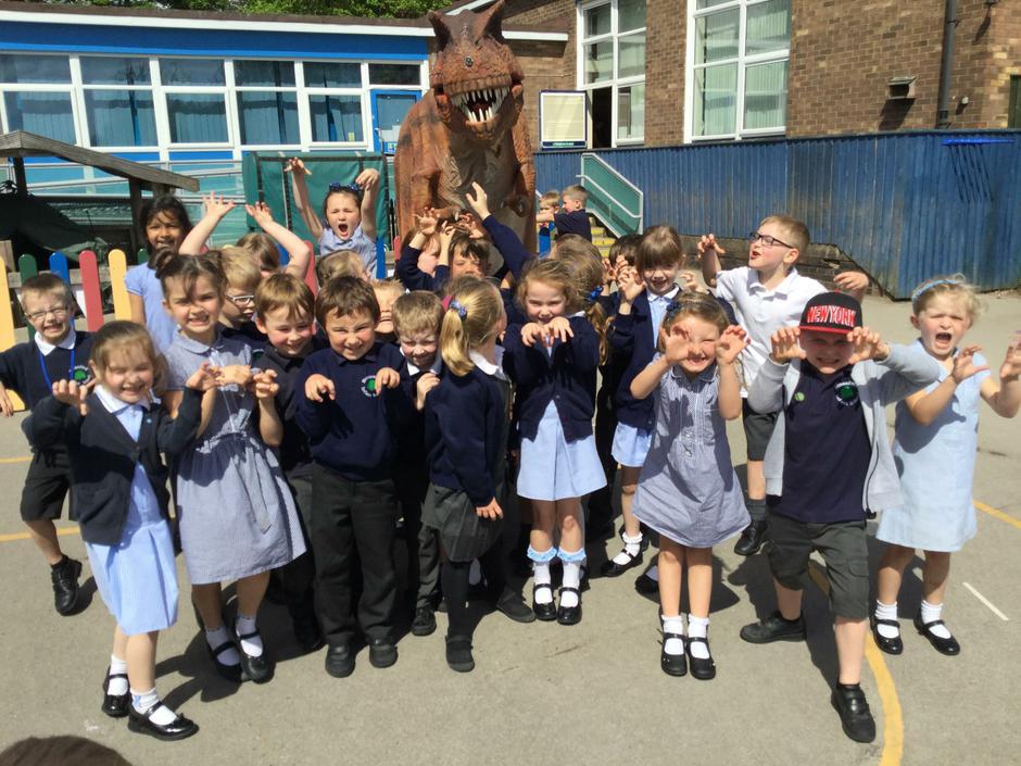 Dinosaur visit