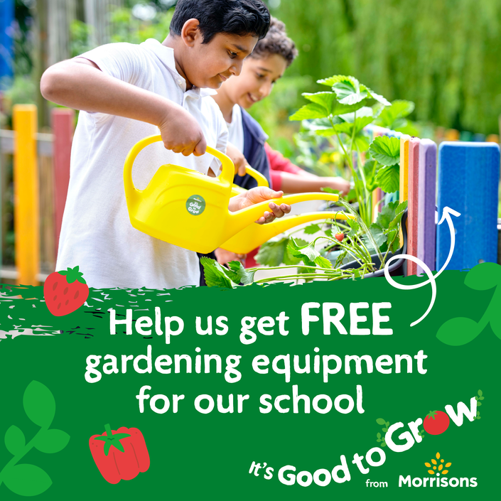 Can you help? Dowload the MyMorrisons App today and selct our school and start collection