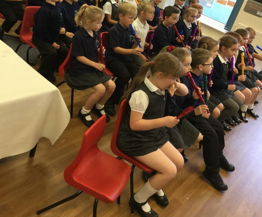 Learning to play the recorder