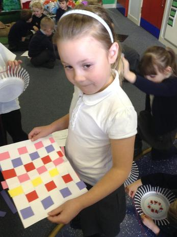 Practise weaving