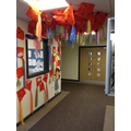 Our display of kites