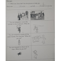 Year 1 reflecting upon how they can show the values and dispositions Jesus shows