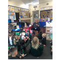 Music with Mrs Vaughan in Reception