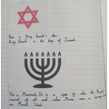 Year 3 exploring symbols of Judaism and their significance.