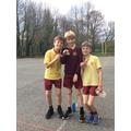Year 5 boys medal winners