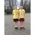 Year 6 boys medal winners