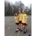 Year 5 girls medal winners
