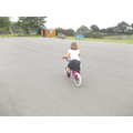 Riding bikes without stabilisers!