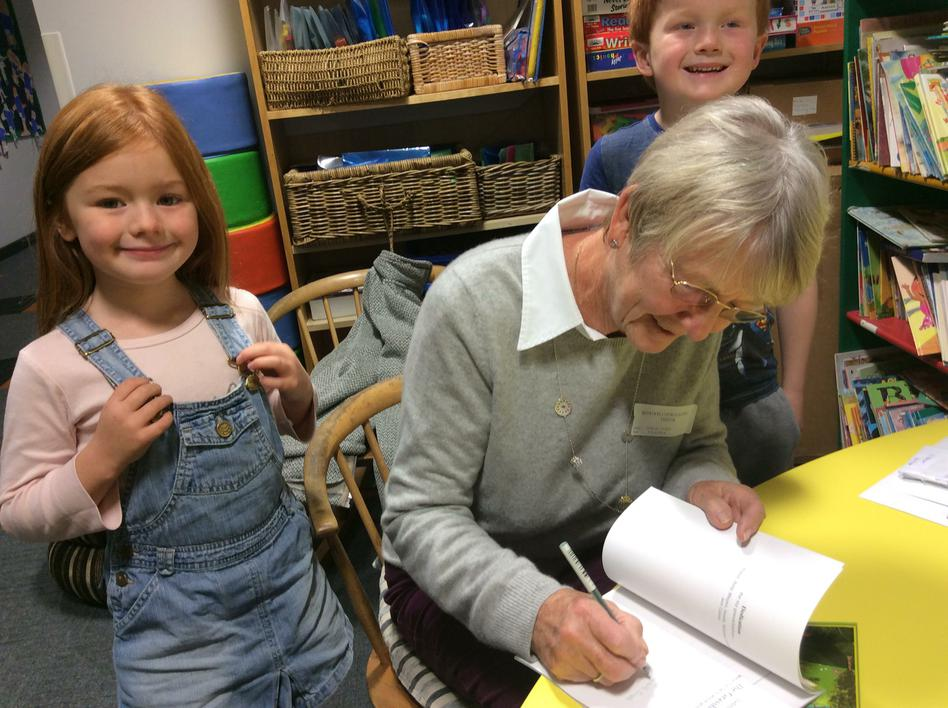 Book signing with Judith Snell