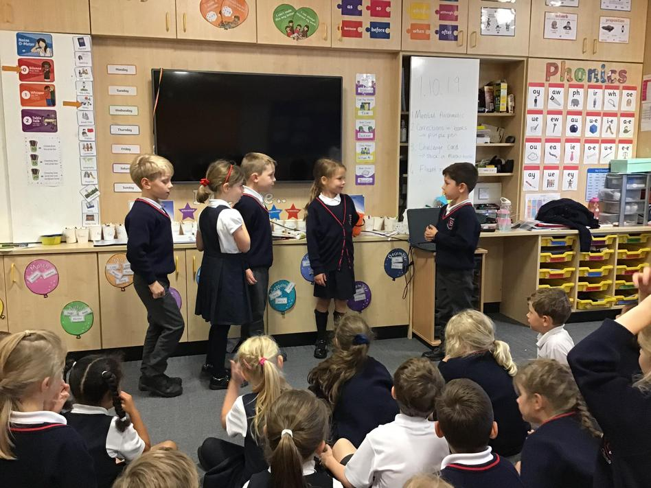 Acting out the story of the Ten Lepers in RE