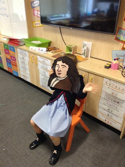 Welcome to our class Mr Pepys!