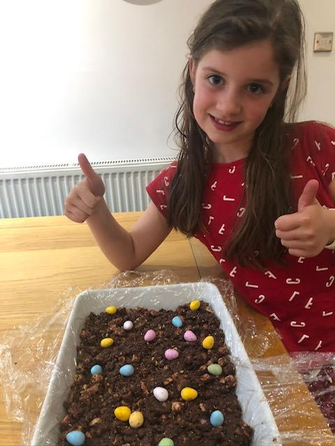IB (2O) Made some fantastic rocky road