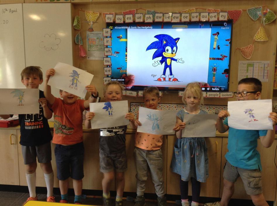 HE (2N) & HK(2O) drew Sonic