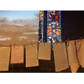 Letters from Trenches display in Church