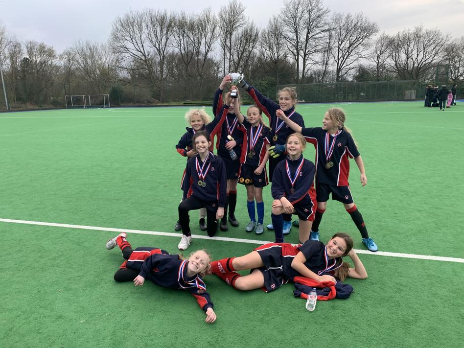 Altrincham Girls League '20 Winners