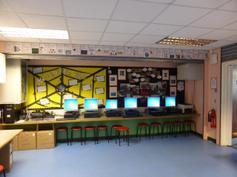 The new IT suite - back of the hall