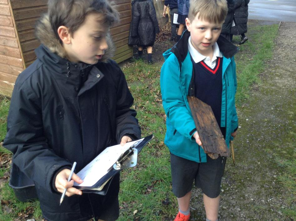 Discussing favourable habitat conditions