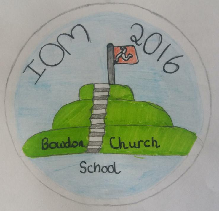 Winning badge design by Elsa & Angie