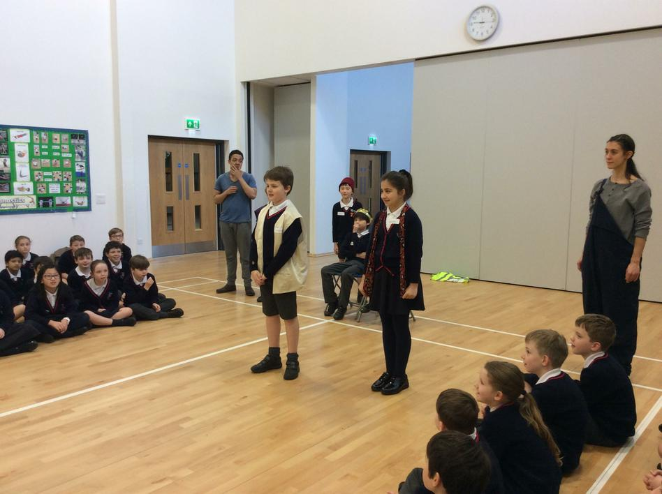 Visit from the Young Shakespeare Company