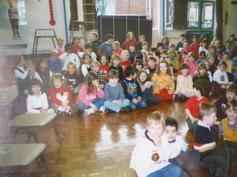 Comic Relief 1997 in the hall