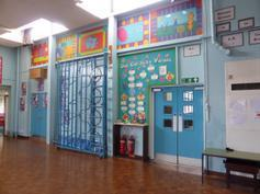 Hall, looking towards Junior corridor 2015