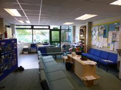 The 'new' staffroom (Behind IT suite)