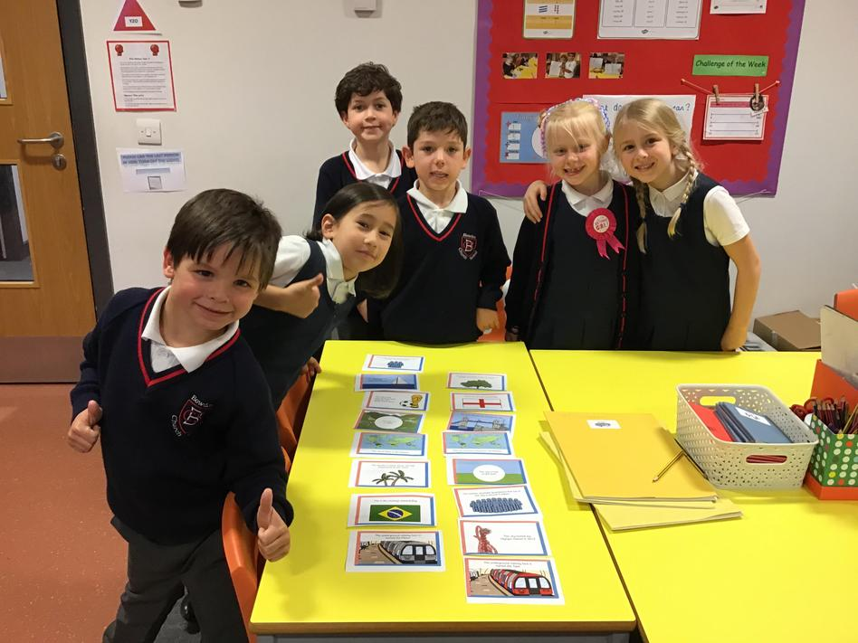 Comparing London and Brasilia in Geography