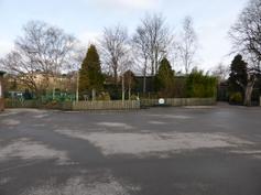 Play area off Junior playground 2015
