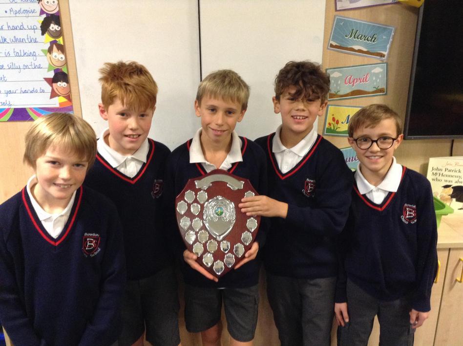 The Boys Team Won John Leigh 2019