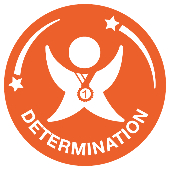 Determination is about the journey you go on to push yourself and achieve your dreams. Have the mental strength and self-discipline to overcome obstacles, commit to your goals and keep working every day to become the very best you can be. Don't hold back.