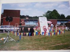 School Fair - on the field 1995