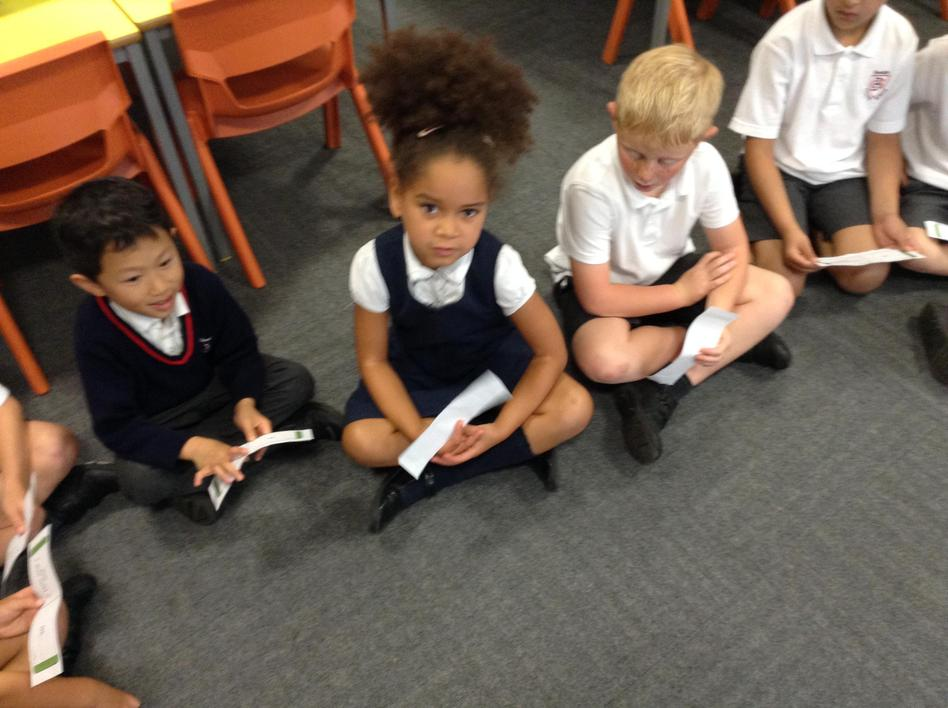Playing a place value loop game