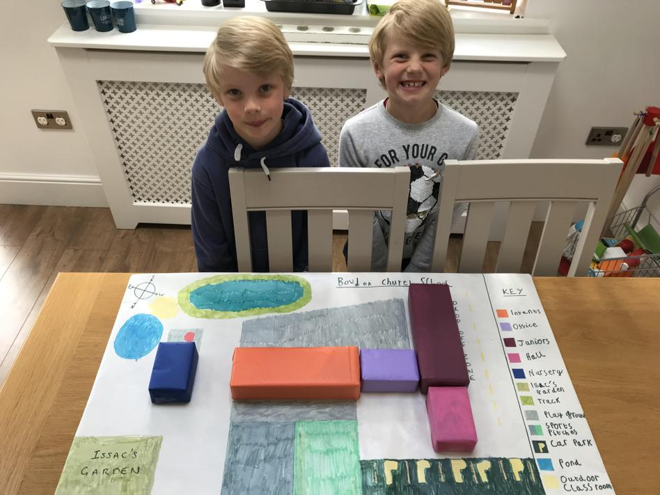 H&T (2O) made a fantastic 3D school map!