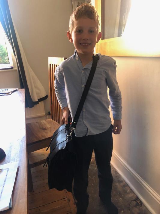 CJ (2N) ready for school!