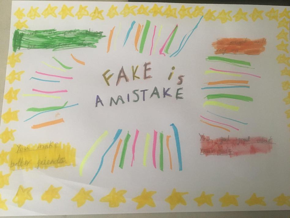 EL (2C) Fake is a Mistake Poster