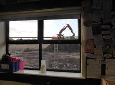 View through Y6 window Sept 2014