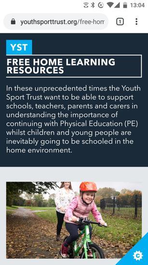 www.youthsporttrust.org/free-home-learning