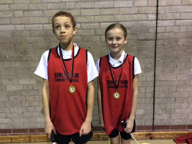 Well done Lucas and Millie on winning gold