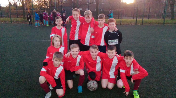 Boys footbal vs Litlle Heaton