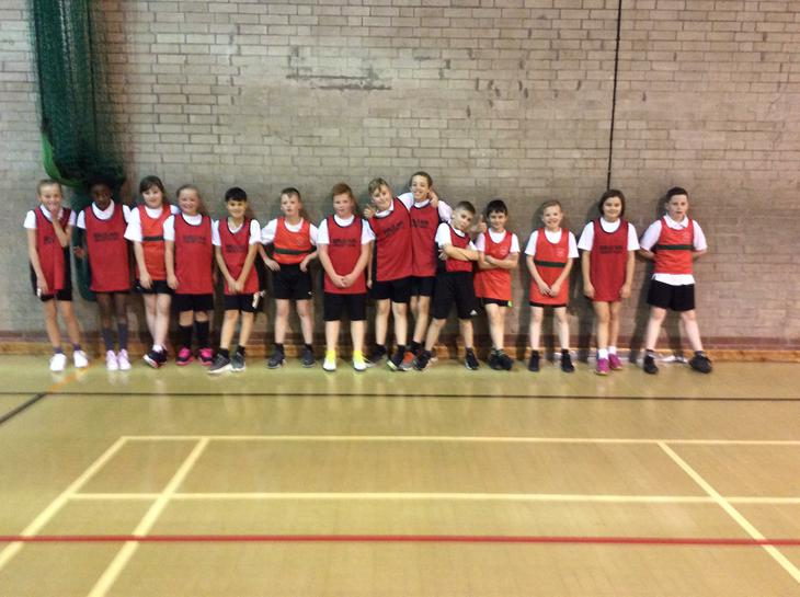 Our year 5/6 dodgeball team