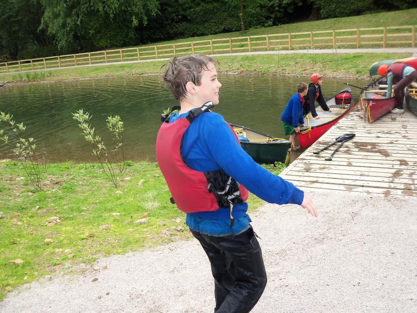 I think Joe liked to canoe.