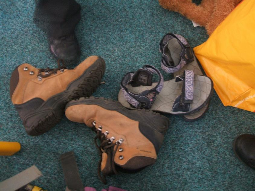 Correct footwear
