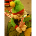 Elfie decided that he needed a peg.