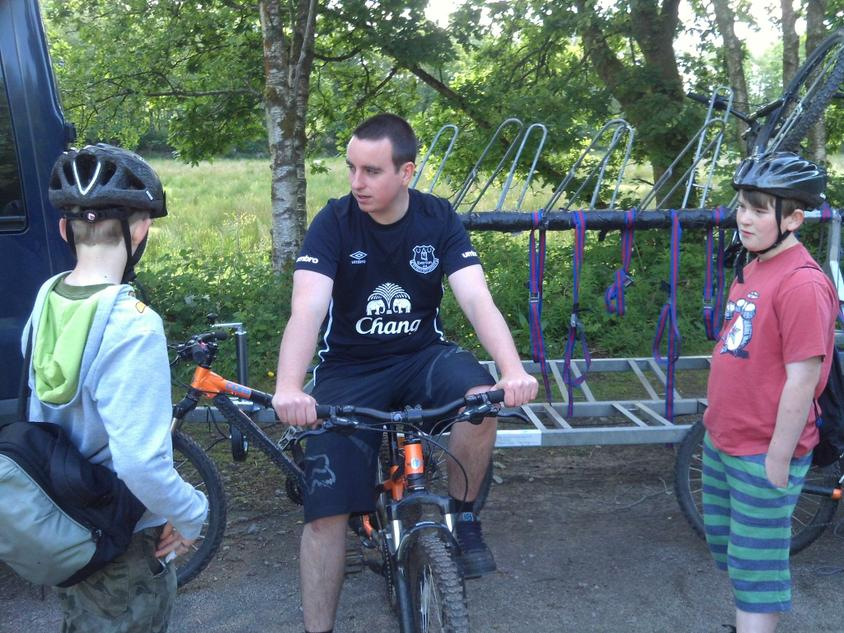 Here's Paul our instructor.