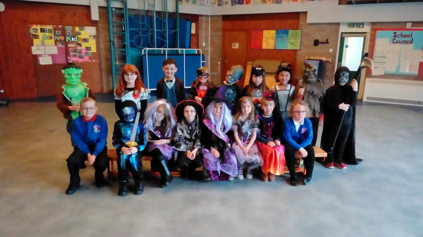 Our class Halloween photo