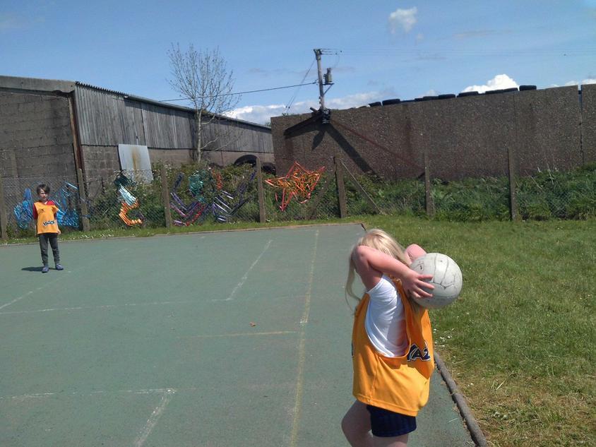 Fantastic throw in Olivia.