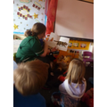 Debbie the veterinary nurse reads to us