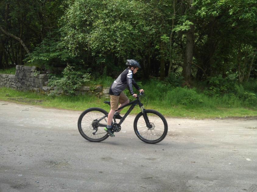 Pro rider Finley