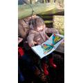 reading everywhere!
